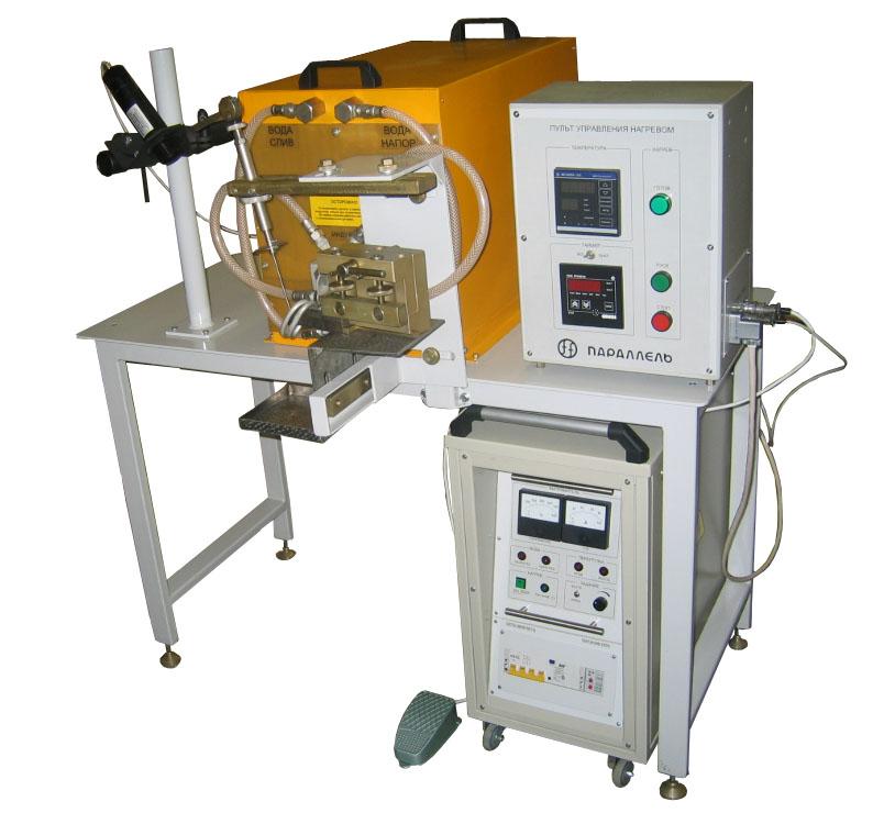 Индукционные установки для пайки и закалки инструмента (серия ПАРАЛЛЕЛЬ ИП), успешно заменившие ламповые генераторы...